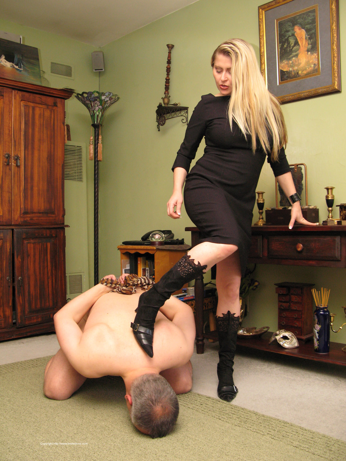 Superb Femdom selected gallery 2 of Boot Slaves